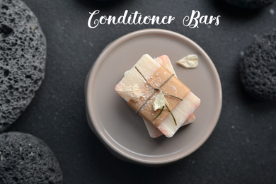 Solid Conditioner Bar- lemon & juniper