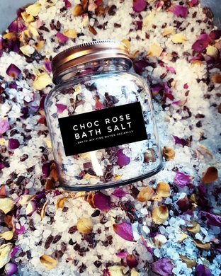 Choc Rose Bath Salt