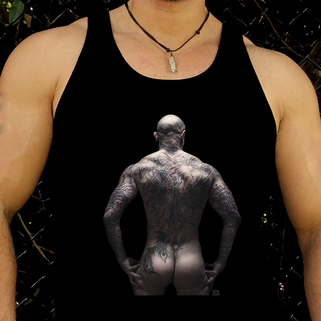 TATTED BACK UP TANK