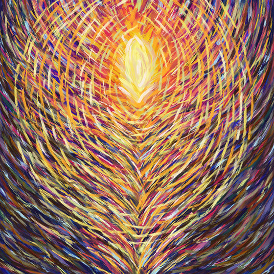 Rising Phoenix - Original Limited Edition Abstract Painting