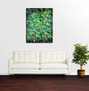 Water Lilies - Original Limited Edition Abstract Painting by Derek Alvarez