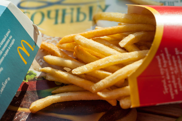 are mcdonald's fries vegan