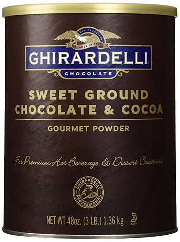 vegan ghirardelli hot chocolate