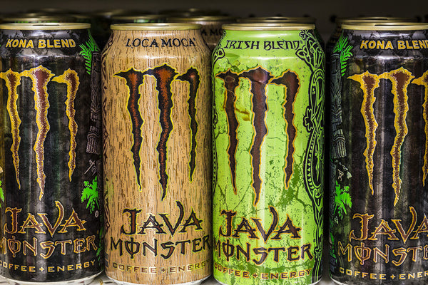 is monster energy drink vegan