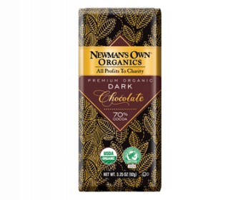newman's own vegan dark chocolate
