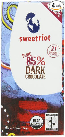 sweetriot vegan dark chocolate