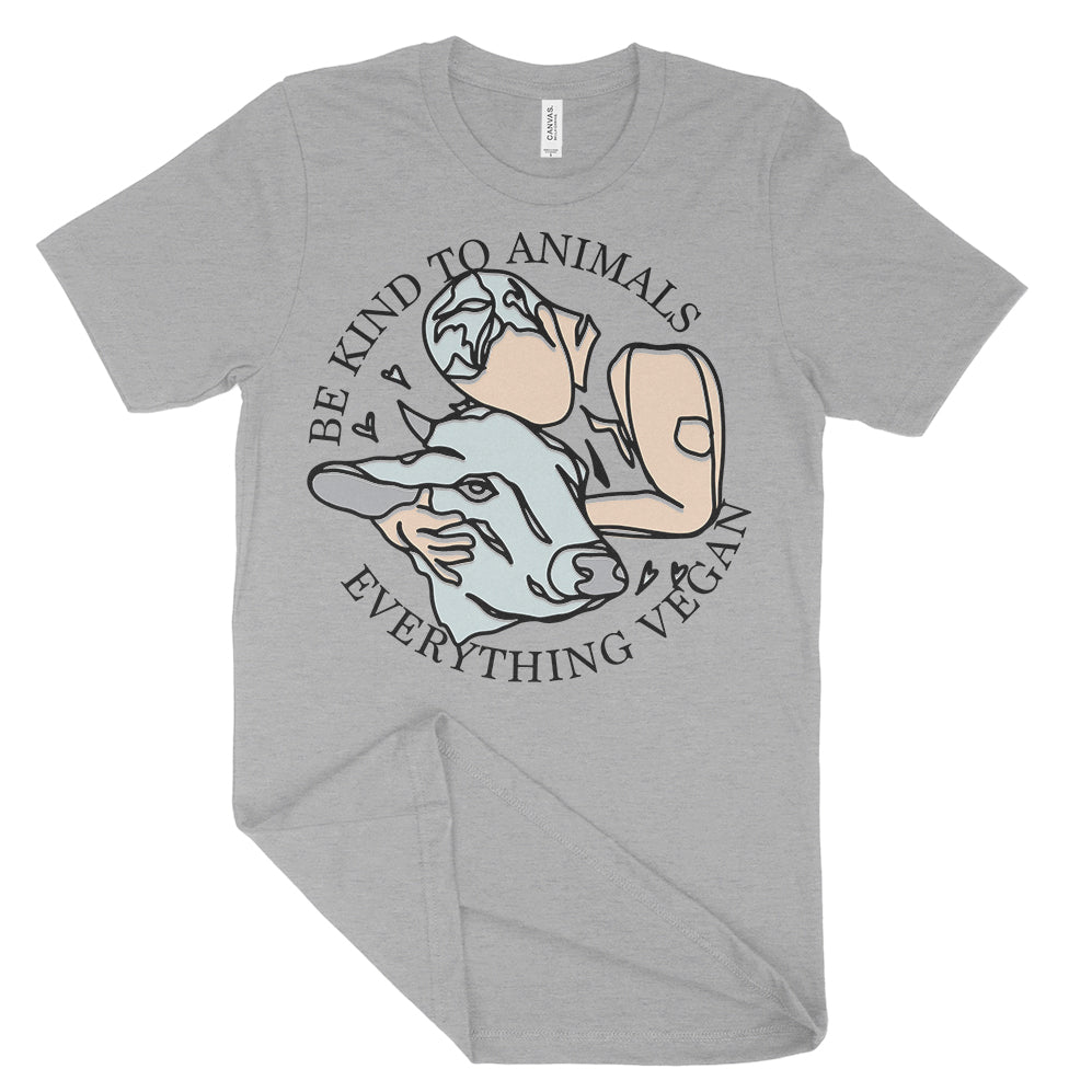 Be Kind To Animals Everything Vegan Shirt