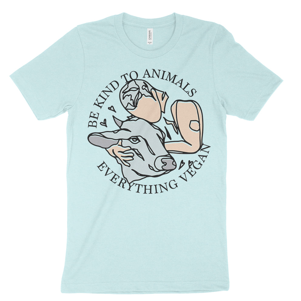Be Kind To Animals Everything Vegan T-Shirt