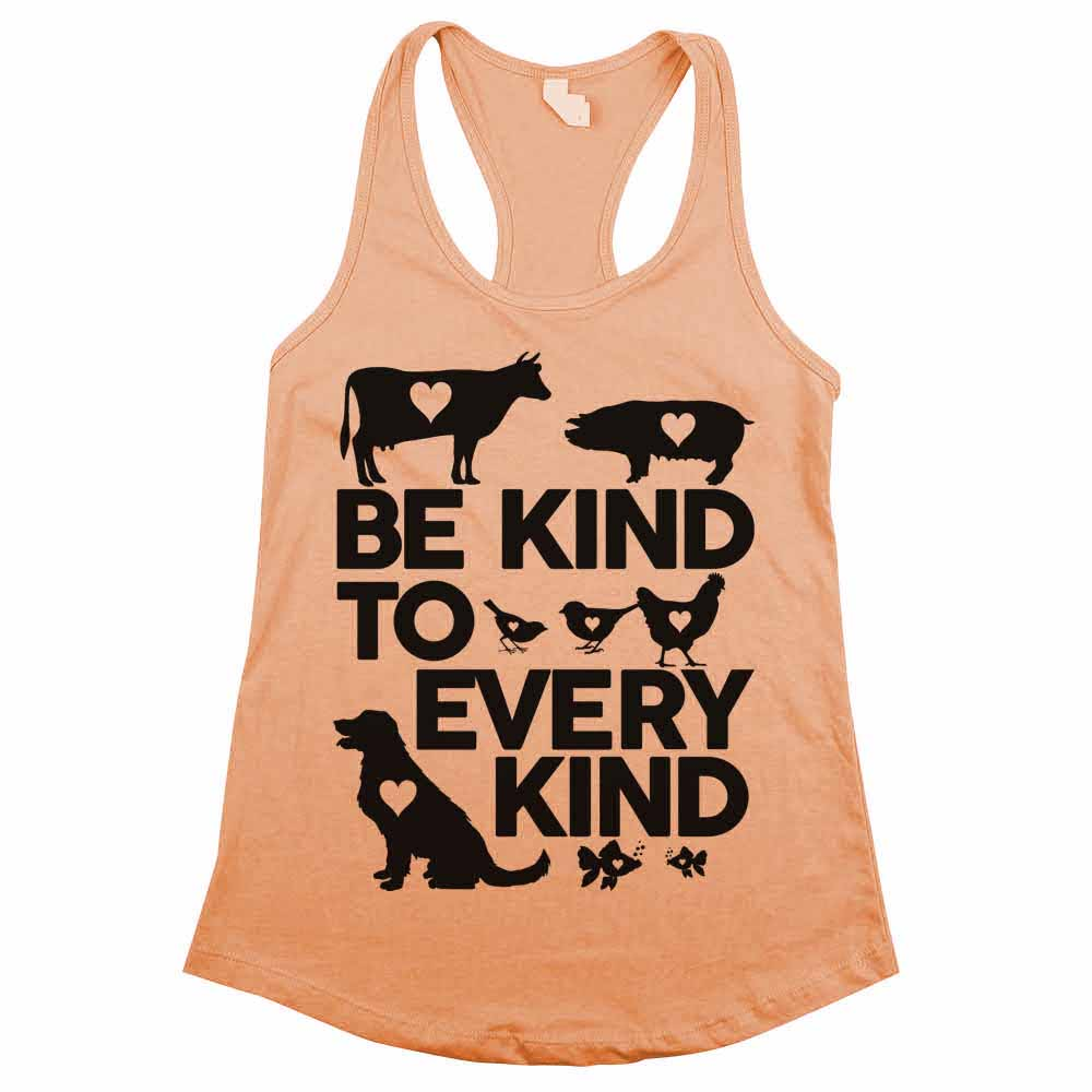 Be Kind to Every Kind Womens Tank