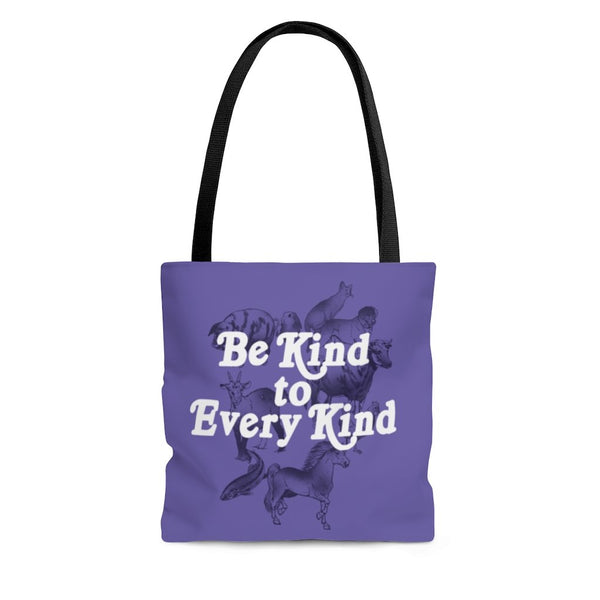 Be Kind To Every Kind Vegan Bag