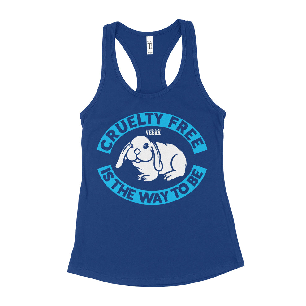 Cruelty Free Is The Way To Be Tank Top Womens Vegan