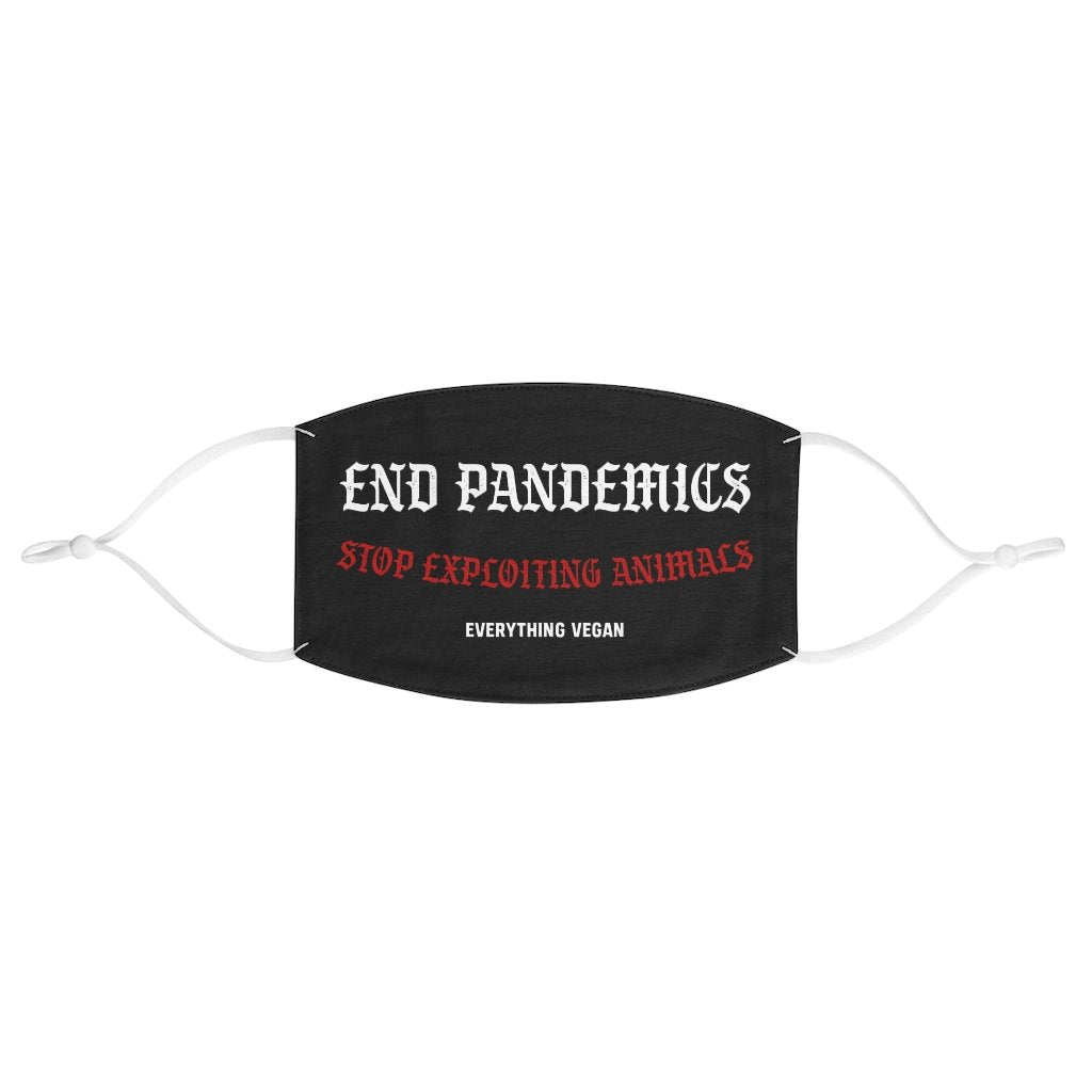 End Pandemics Animal Rights Face Mask