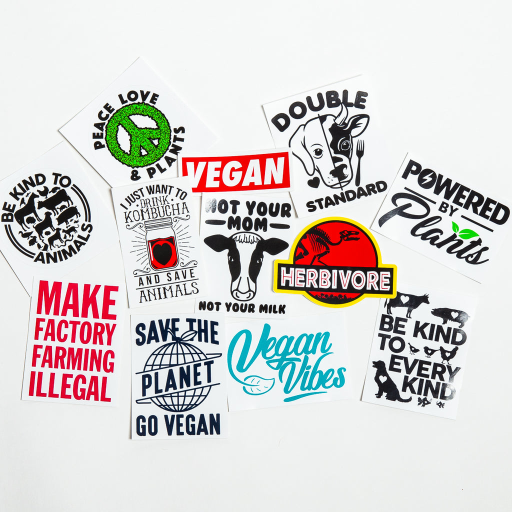 Everything Vegan Stickers