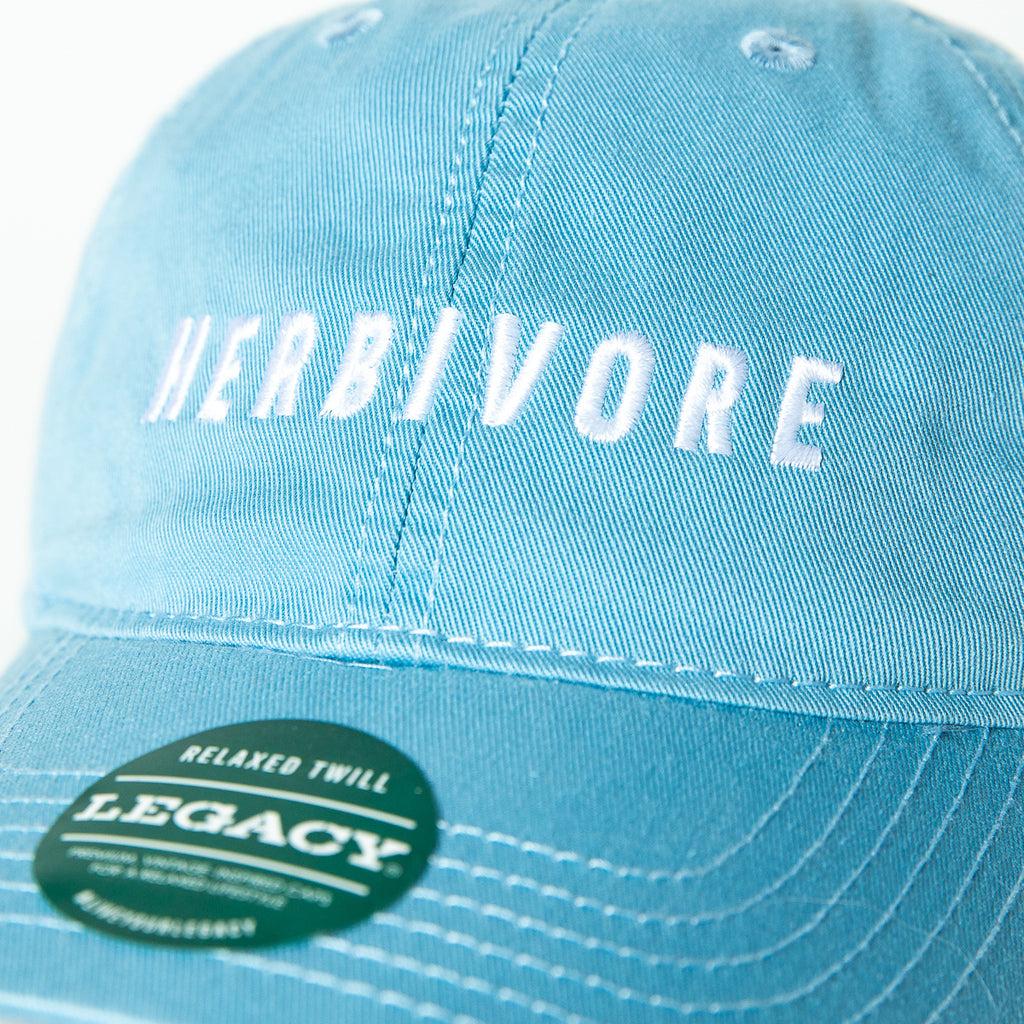 Herbivore Vegan Hat Blue