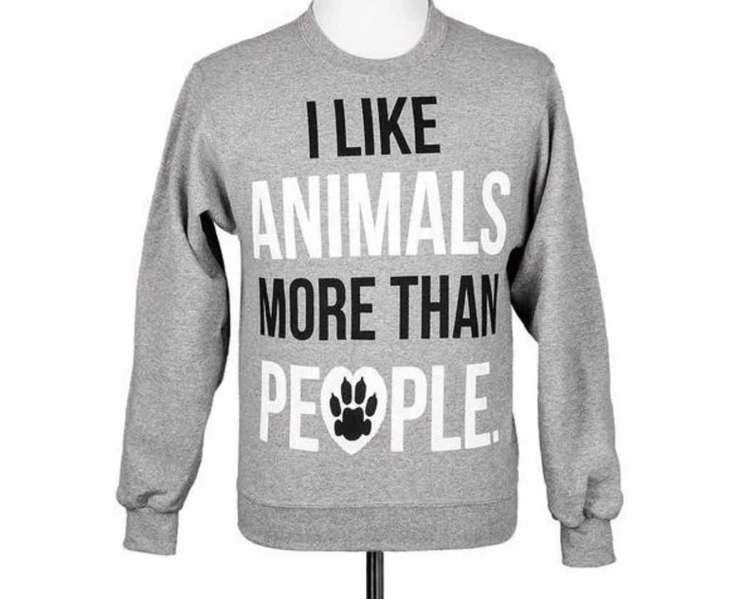'I Like Animals More Than People'