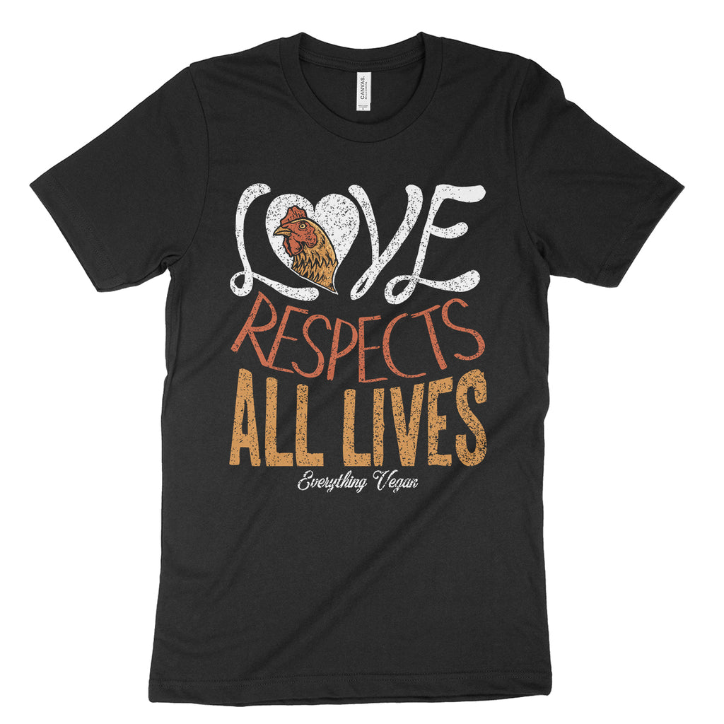 Love Respects All Lives Shirt