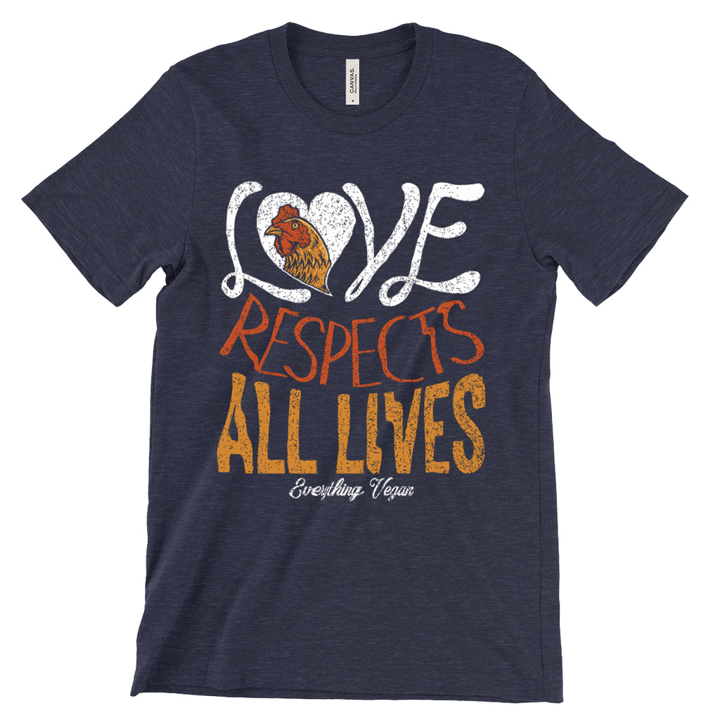 Love Respects All Lives T-Shirt