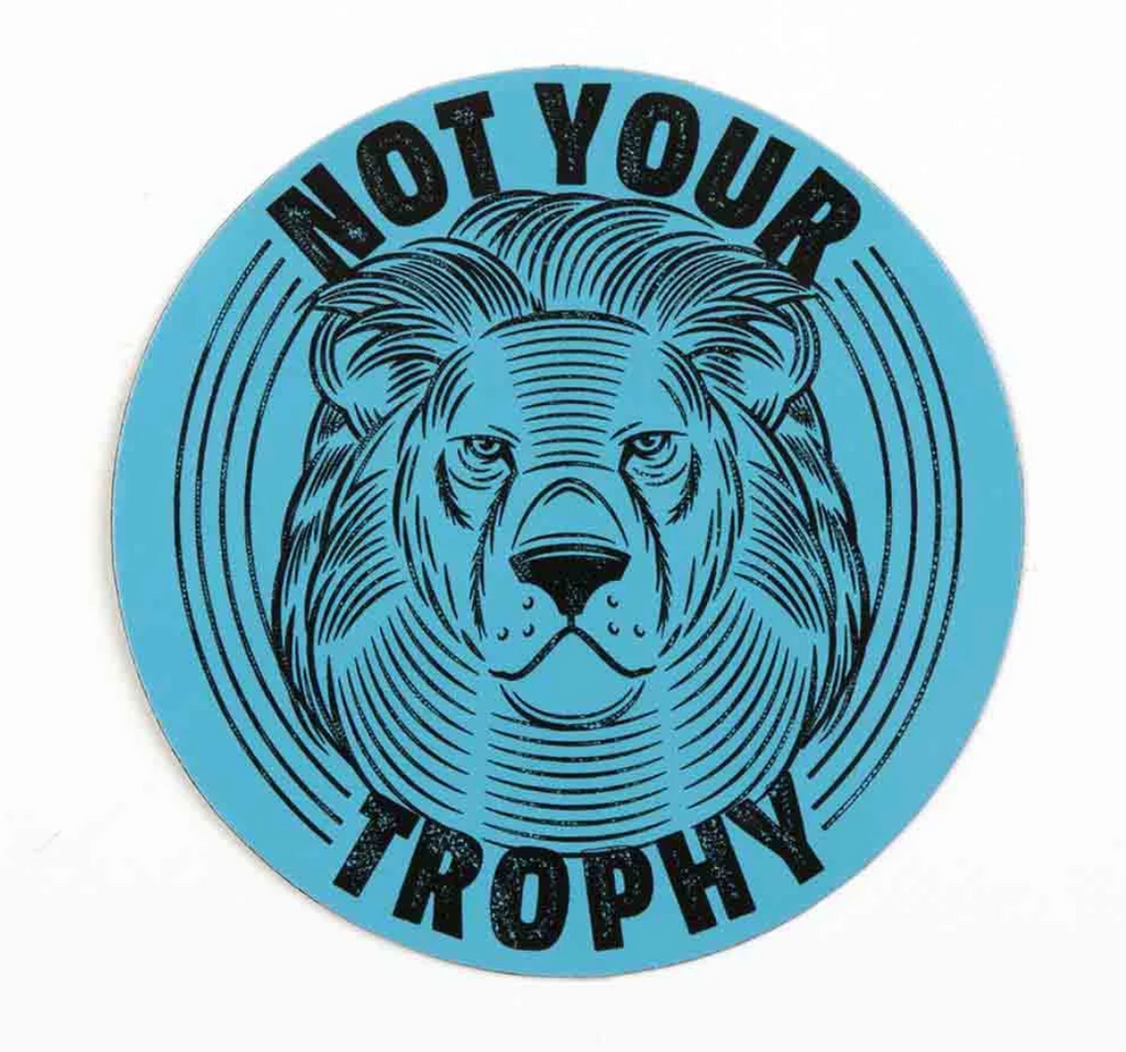 'Not Your Trophy' Magnet