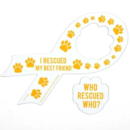 'Who Rescued Who' Magnet
