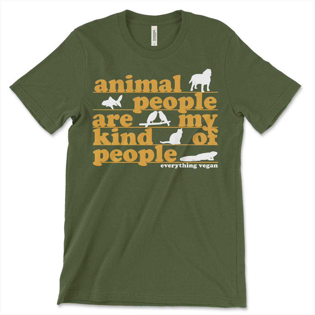 Animal People Tee Shirt