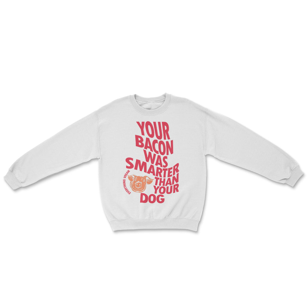 Bacon Was Smarter Sweater