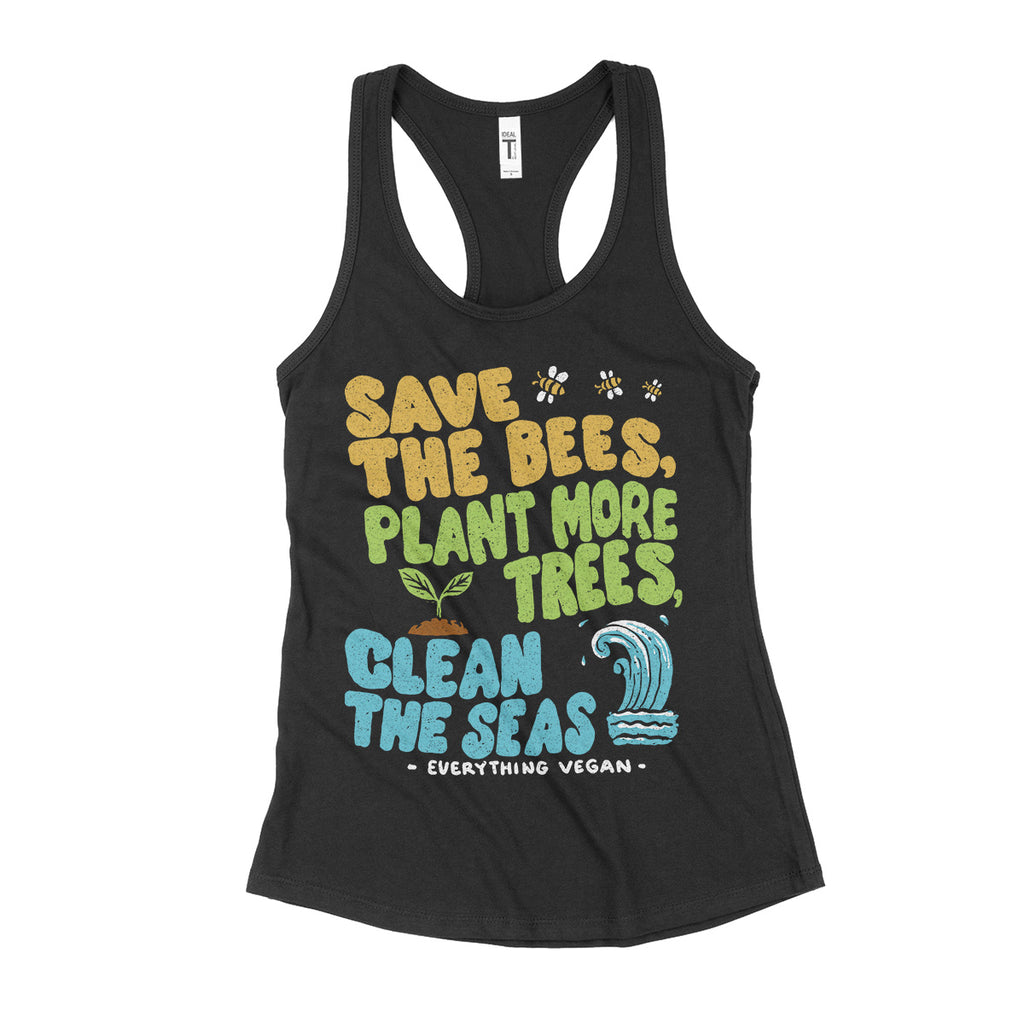 Bees Trees Seas Women's Tank Top