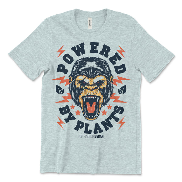 Powered by Plants Gorilla Shirt
