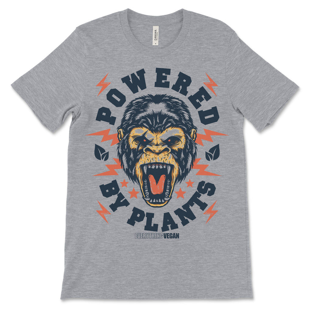 Powered by Plants Gorilla Tee Shirt