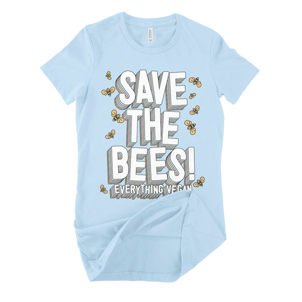 Save The Bees Womens T Shirt