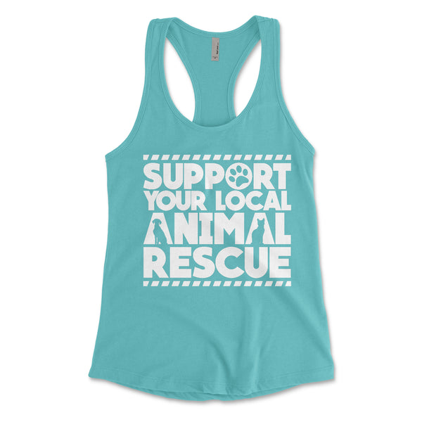 'Support Your Local Animal Rescue'