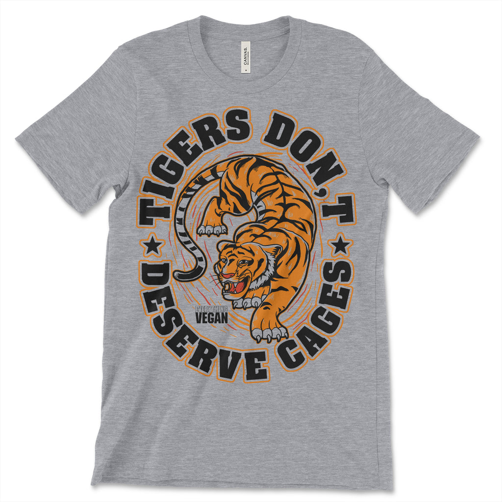 Tigers Don't Deserve Cages Shirt