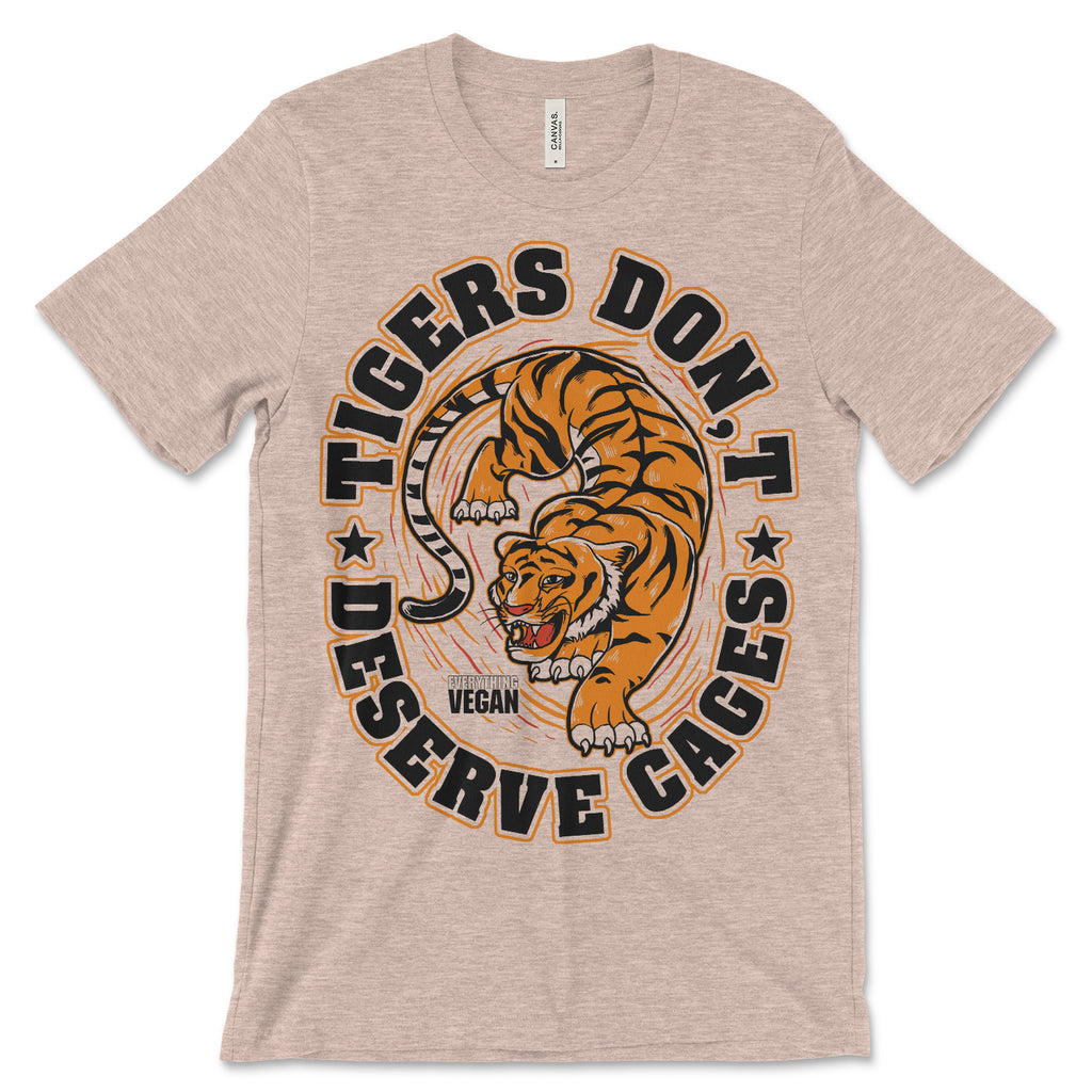 Tigers Don't Deserve Cages T Shirt