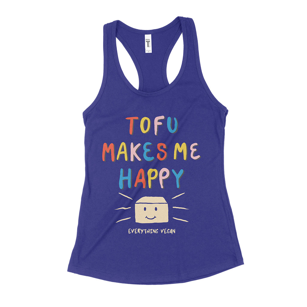 Tofu Makes Me Happy Women's Tank