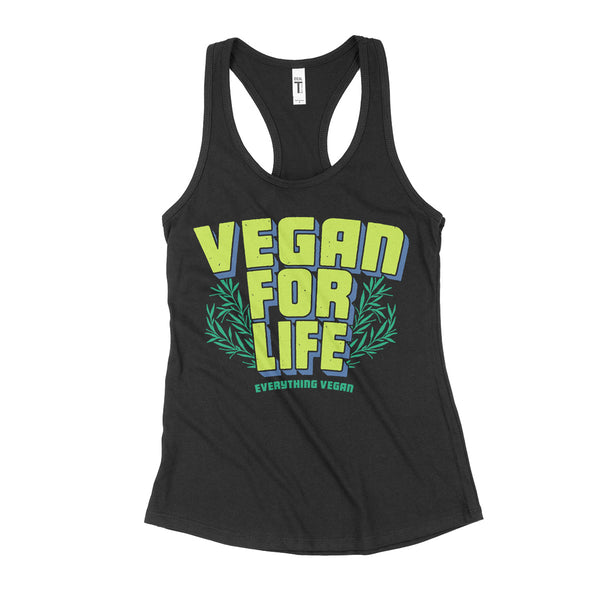Vegan For Life Women's Tank Top