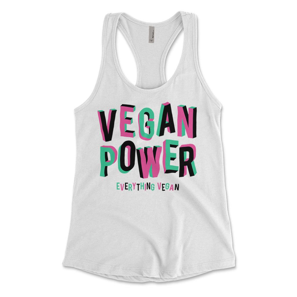 Vegan Power Womens Tank Top