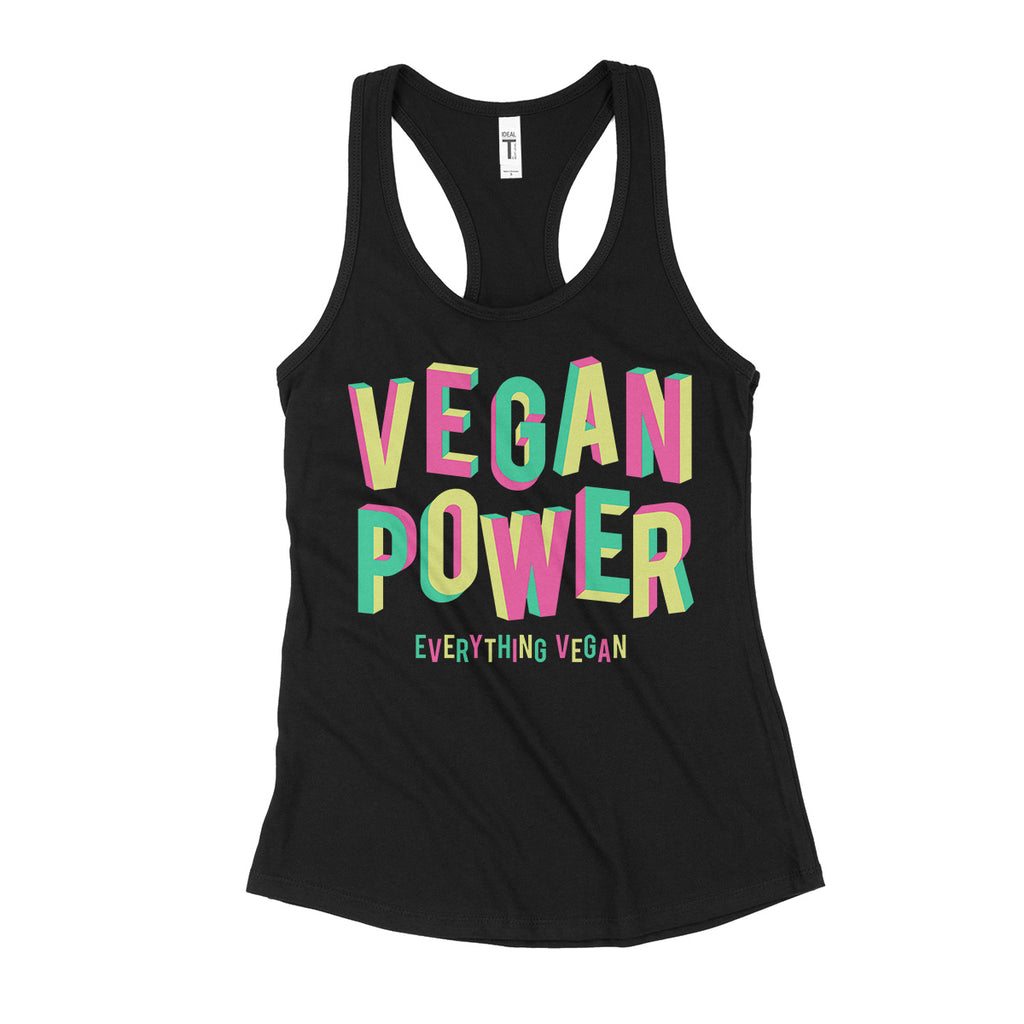 Vegan Power Womens Tank