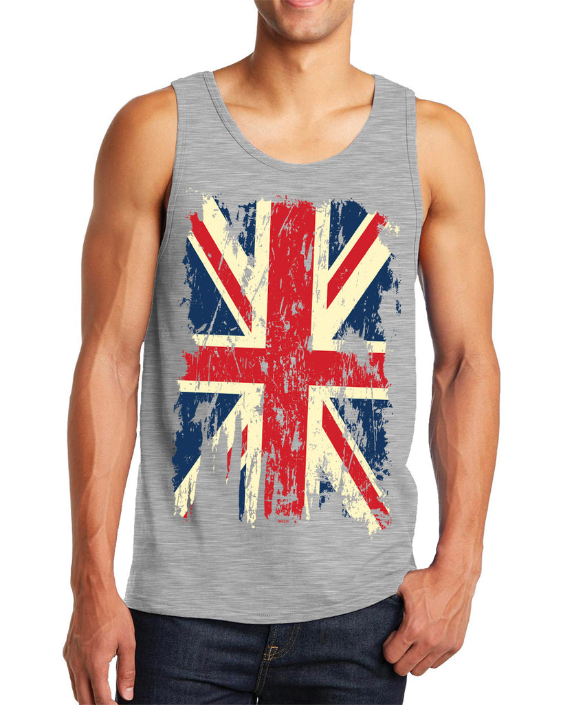12e4658e076bdb Men s Distressed United Kingdom Union Jack Flag Tanktop – Inkeezy