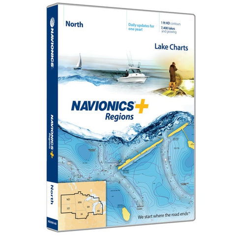 Navionics Regions-North Region MSD/NAV+NO