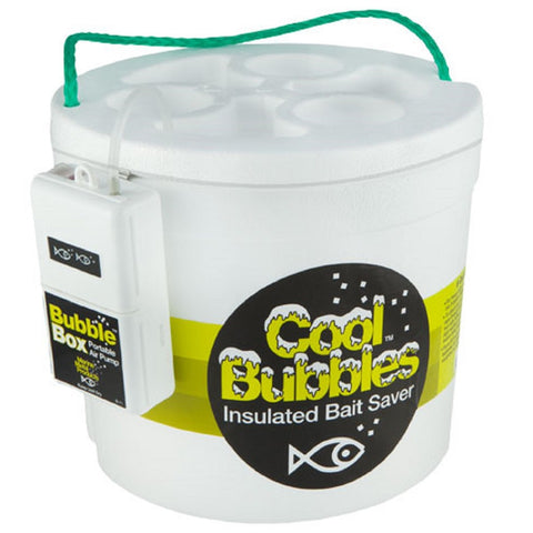 Marine Metal Cool Bubbles 8 Quart Foam Bucket and Pump Kit
