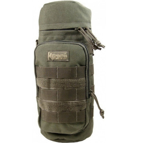 Maxpedition Bottle Holder 12.0 x 5.0 in Foliage Green