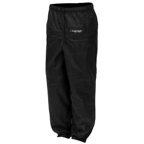 Frogg Toggs Pro Action Pant Ladies Black Large PA83522-01LG
