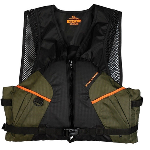 Stearns Pfd 2220 Cmft Fishing 3X Grn C004 2000013801