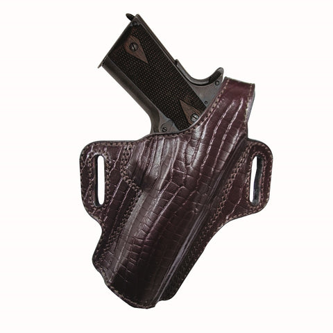 Tagua Premium Thumb Break Belt Holster Glock 17-Burgundy