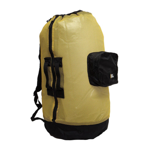 Nat Geo Clamshell Mesh Backpack Dlx 5 Pocket -Ylw/Bk