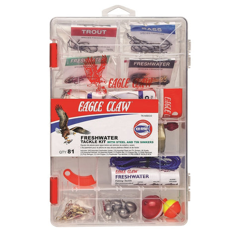 Eagle Claw Fresh Water Kit Lead Alternative Weights