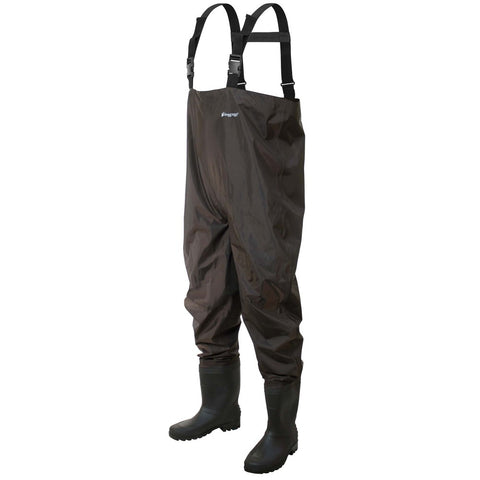 Frogg Toggs Rana II PVC Chest Wader Cleated Sz 12