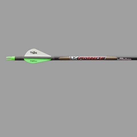 Victory Archery 6pk VForce V3 Carbon Arrow 500 VFV3-500FB-6