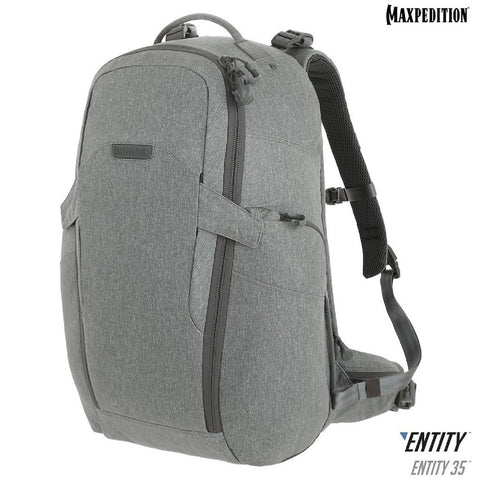 Maxpedition ENTITY 35 CCW-Enabled Laptop Backpack 35L Ash