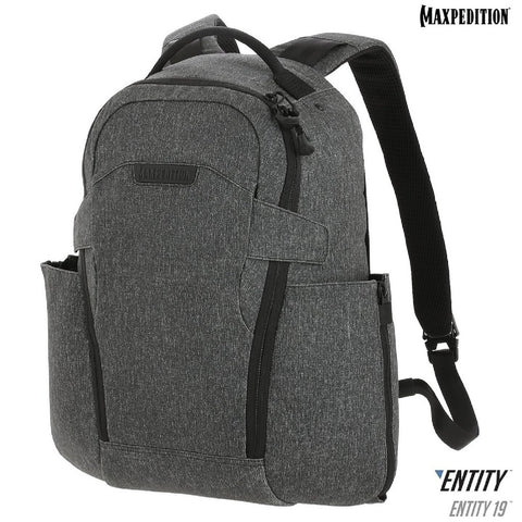 Maxpedition ENTITY 19 CCW-Enabled EDC Backpack 19L Charcoal