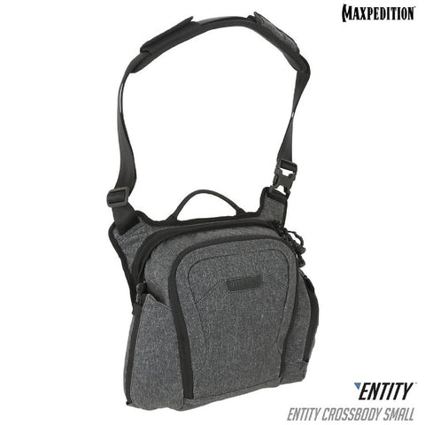 Maxpedition ENTITY Crossbody Bag Small Charcoal